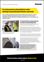 Consair case study Skanskan Kaupunkiympäristötalo