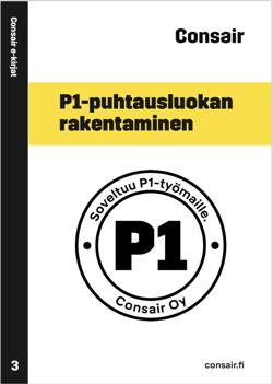P1-puhtausluokan rakentaminen e-kirja