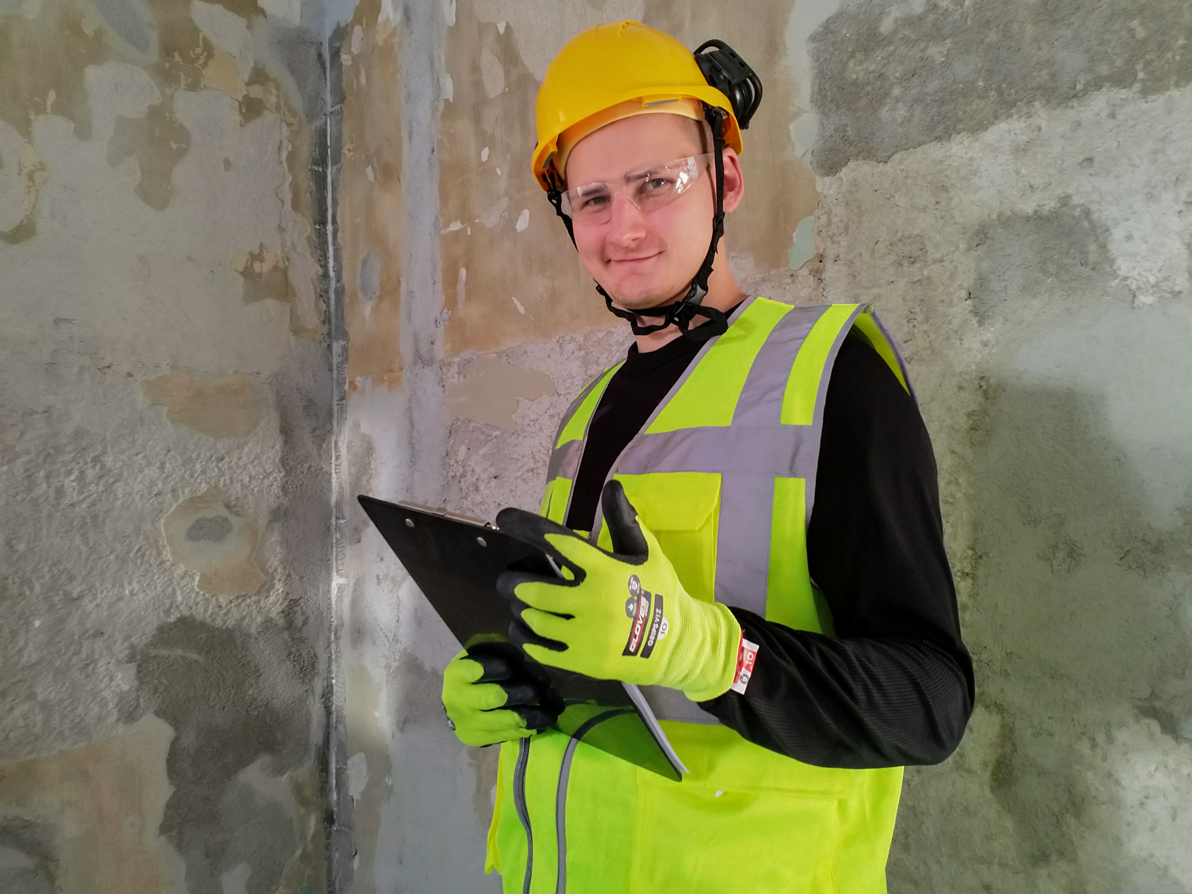 P1-puhtausluokka rakennusprojektissa